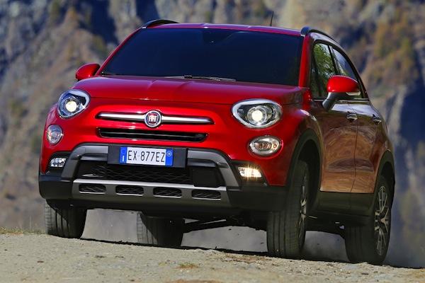 Fiat 500X Italy October 2014