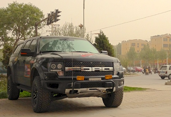 Ford F-150 Raptor Kashgar China