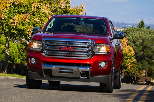 GMC Canyon USA December 2014. Picture courtesy of motortrend.com
