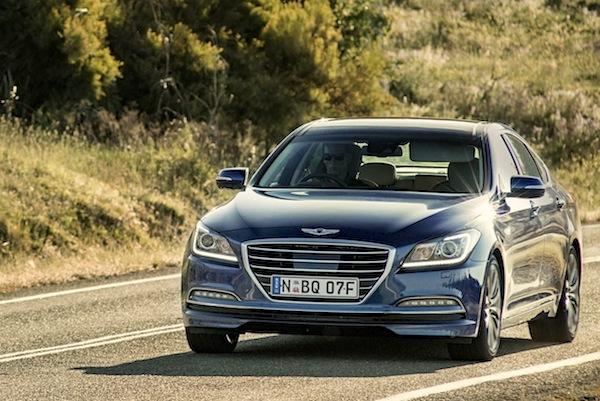 Hyundai Genesis Australia November 2014. Picture courtesy of caradvice.com.au