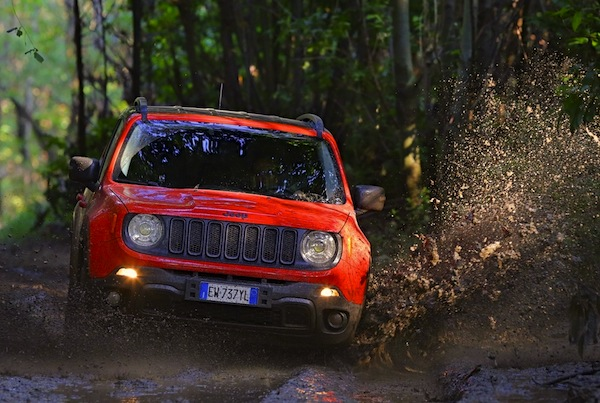 Jeep Renegade Italy October 2014