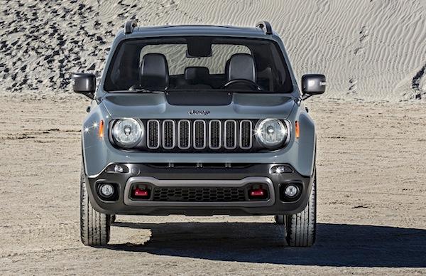 Jeep Renegade Netherlands November 2014