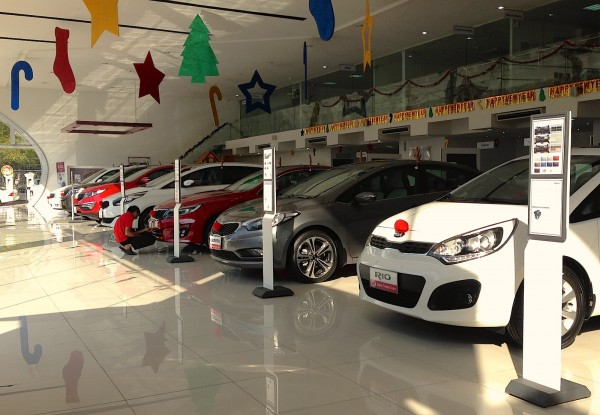 Kia Showroom Yangon 3