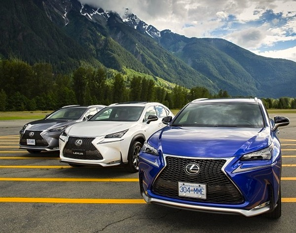 Lexus NX Japan November 2014