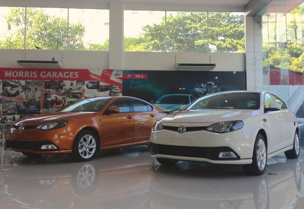 MG Showroom Yangon 1