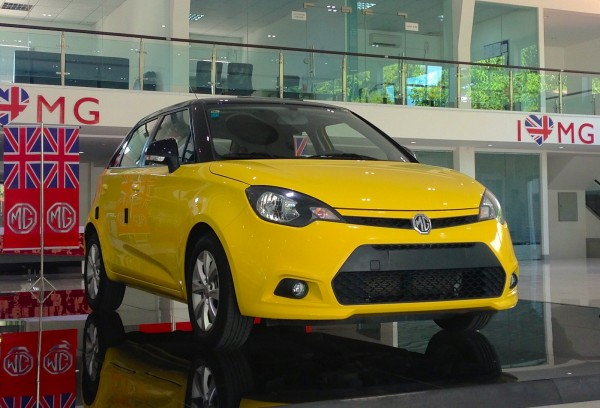 MG Showroom Yangon 3