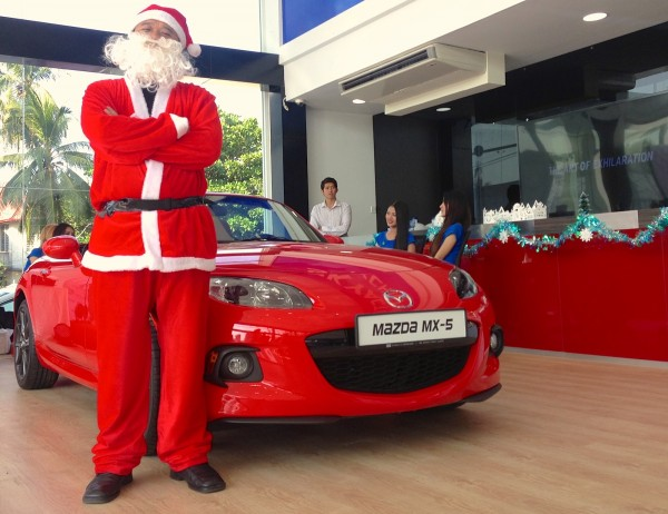 Mazda Santa Claus Showroom Yangon 4