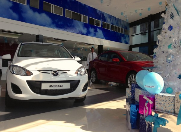 Mazda Showroom Yangon 1
