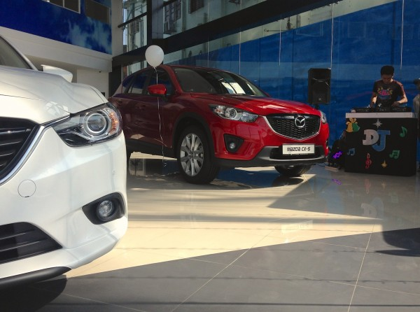 Mazda Showroom Yangon 2