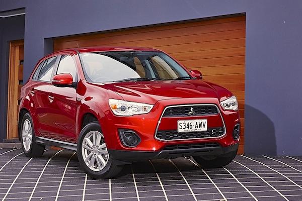 Mitsubishi ASX Australia November 2014. Picture courtesy of caradvice.com.au