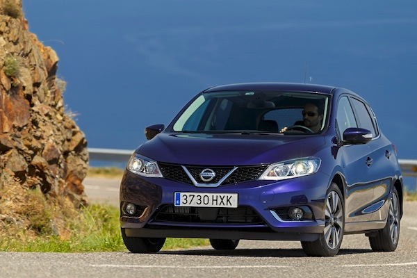 Nissan Pulsar Ireland January 2015. Picture courtesy of largus.fr