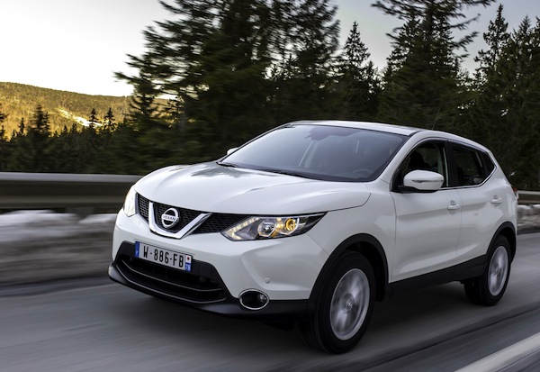 Nissan Qashqai Estonia February 2015. Picture courtesy of largus.fr