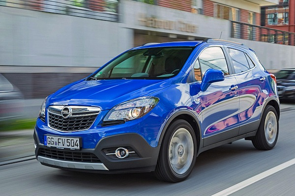 Opel Mokka Hungary 2014. Picture courtesy of autobild.de