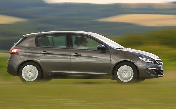 Peugeot 308 Netherlands November 2014. Picture courtesy of automobile-magazine.fr