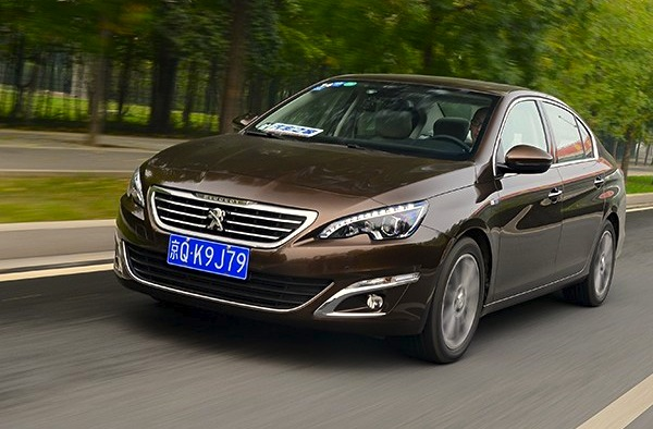 Peugeot 408 China November 2014. Picture courtesy of autohome.com.cn