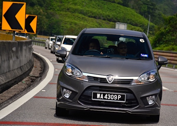 Proton Iriz Malaysia November 2014. Picture courtesy of paultan.org