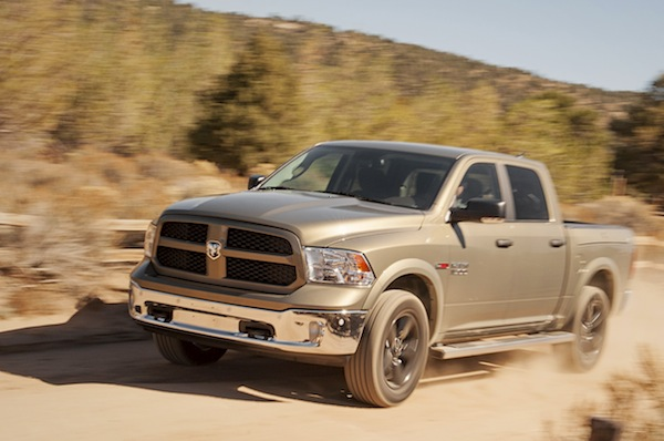 Ram 1500 USA November 2014. Picture courtesy of motortrend.com