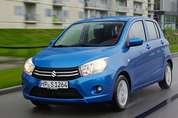 Suzuki Celerio Germany November 2014. Picture courtesy of autobild.de