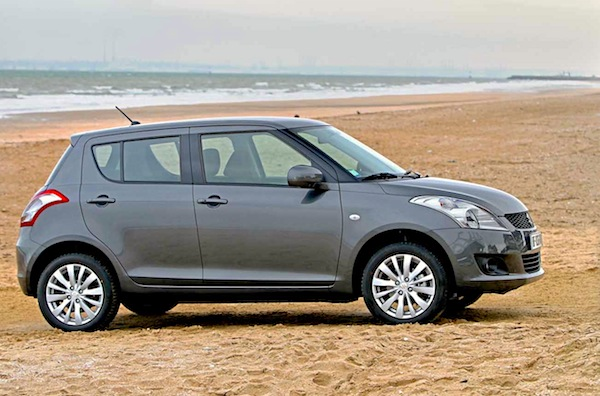 Suzuki Swift Uruguay November 2014. Picture courtesy of larevueautomobile.com