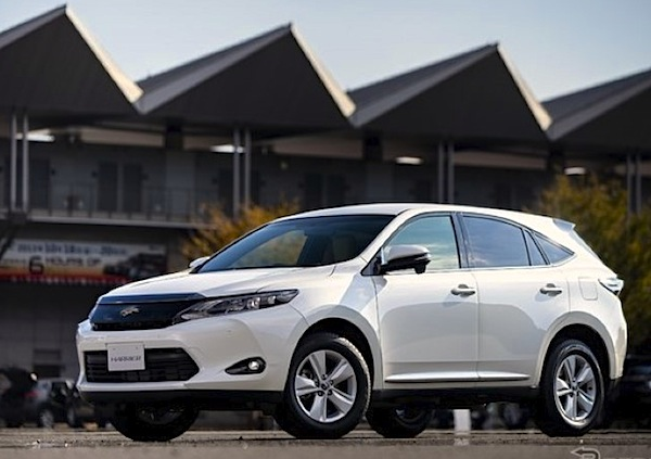 Toyota Harrier Japan November 2014