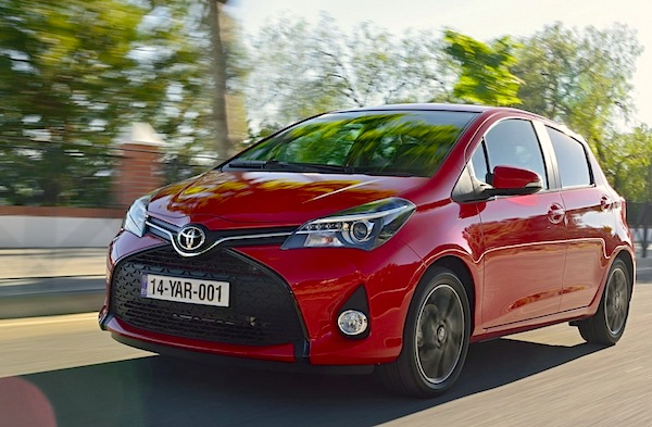 Toyota Yaris Greece November 2014. Picture courtesy of largus.fr