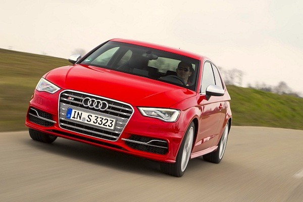 Audi A3 Germany 2014. Picture courtesy of largus.fr