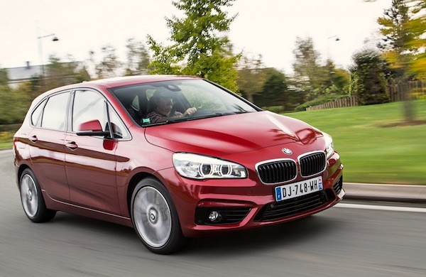BMW 2 Series Active Tourer Germany December 2014. Picture courtesy of largus.fr