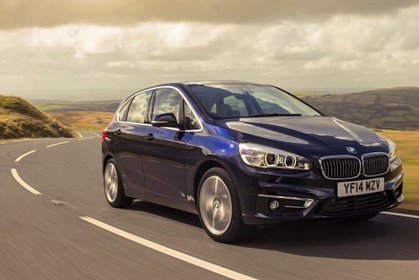 BMW 2 Series Active Tourer Netherlands December 2014. Picture courtesy of automobilesreview.com