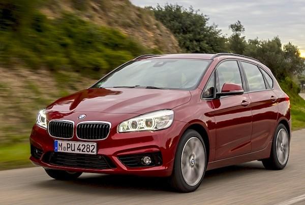 BMW 2 Series Europe November 2014