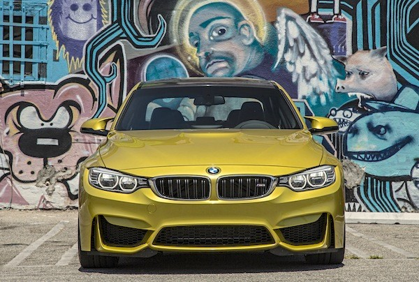 BMW M3 World 2014. Picture courtesy motortrend.com