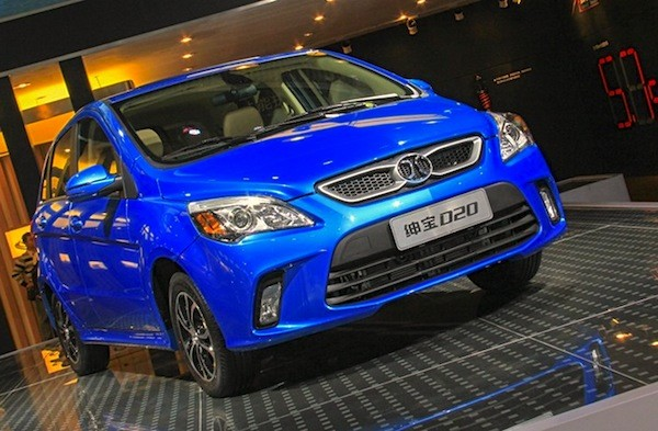 Beijing Auto Senova D20 China December 2014. Picture courtesy bitauto.com