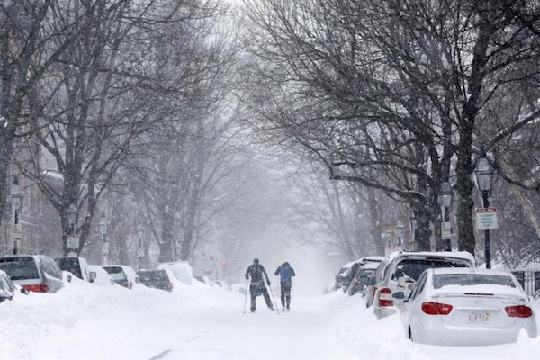 Blizzard 2015 Boston. Picture courtesy of vosizneias.com