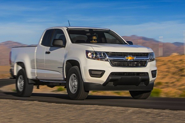 Chevrolet Colorado USA December 2014. Picture courtesy of motortrend.com