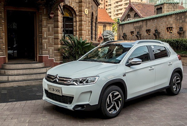 Citroen C3-XR China December 2014