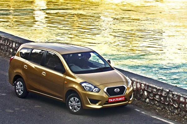 Datsun GO+ India December 2014. Picture courtesy of cartrade.com
