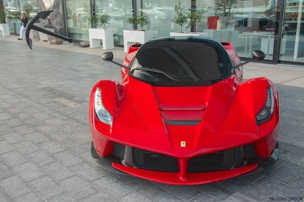 Ferrari LaFerrari Monaco 2014. Picture courtesy Nicolas Speck