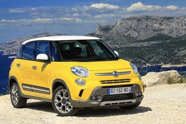 Fiat 500L Italy 2014. Picture courtesy of largus.fr