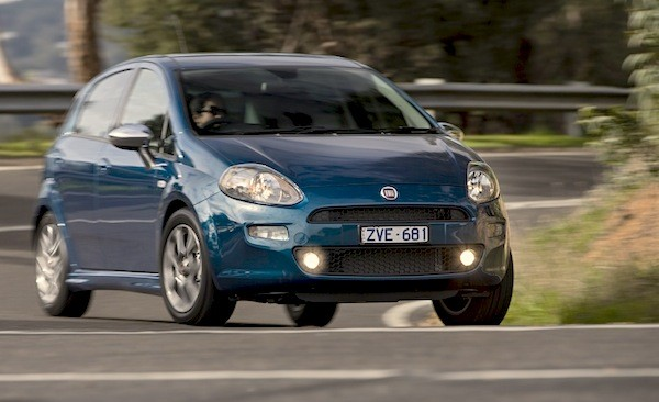 Fiat Punto New Zealand 2014. Picture courtesy of caradvice.com.au