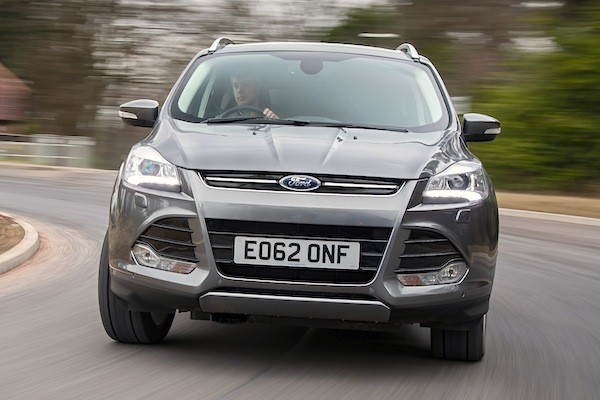 Ford Kuga UK July 2015
