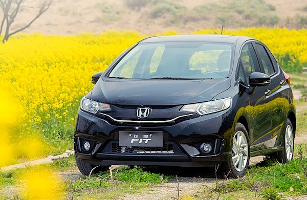 Honda Fit Malaysia February 2015. Picture courtesy auto.163.com