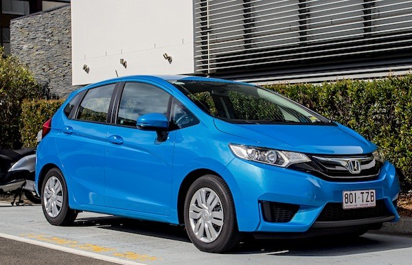 Honda Jazz Singapore June 2015. Picture courtesy of caradvice.com.au