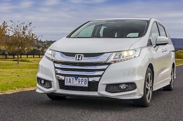 Honda Odyssey Australia 2014. Picture courtesy of caradvice.com.au