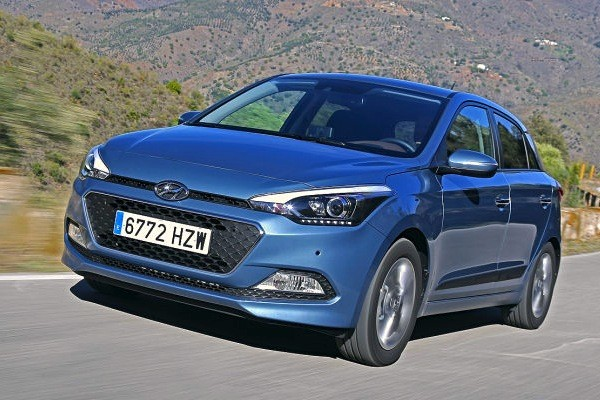 Hyundai i20 Austria 2014. Picture courtesy of autobild.de