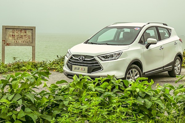 JAC Refine S3 China December 2014. Picture courtesy autov.com.cn