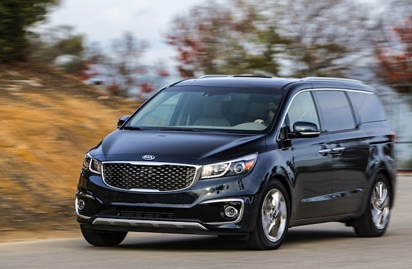 Kia Carnival South Korea 2014. Picture courtesy of motortrend.com