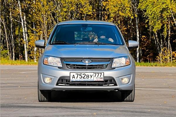 Lada Granta Russia 2014. Picture courtesy of zr.ru