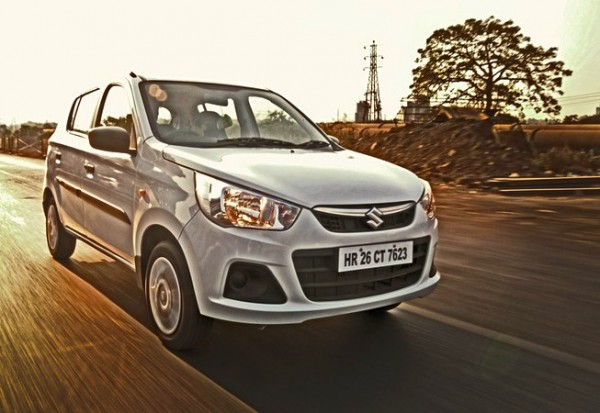 Maruti Alto K10 India 2014. Picture courtesy of cartrade.com