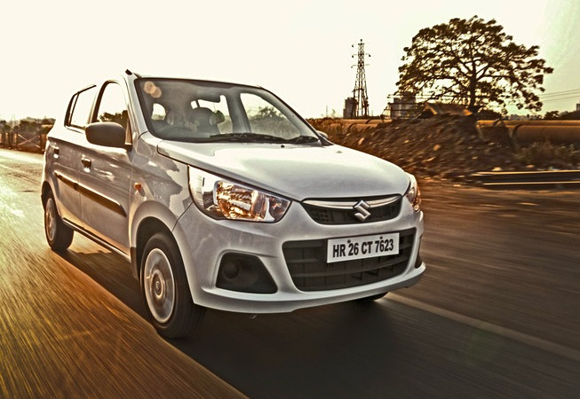 Maruti Alto K10 Uruguay January 2015. Picture courtesy of cartrade.com
