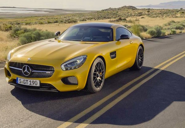 Mercedes AMG GT Switzerland March 2015
