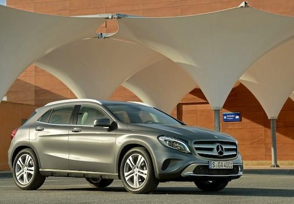 Pressdrive Mercedes GLA 2014 Malaga-Granada